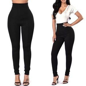 Fashion Nova Pants - FashionNova 11in High Rise Skinny Pants